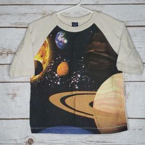 Gap Solar System Shirt Size 12-18 Months